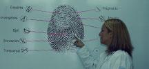 Cazadora de rastros . Vanina Gauna